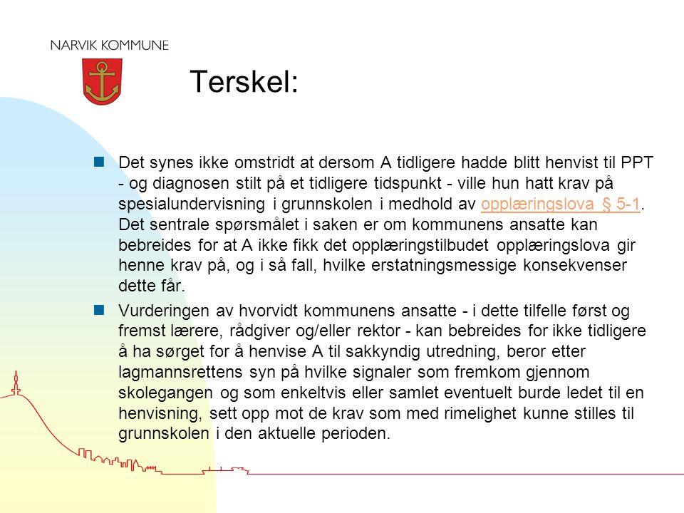 Terskel: