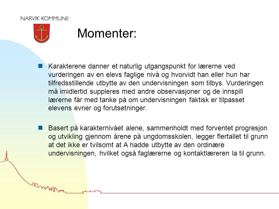 Momenter: