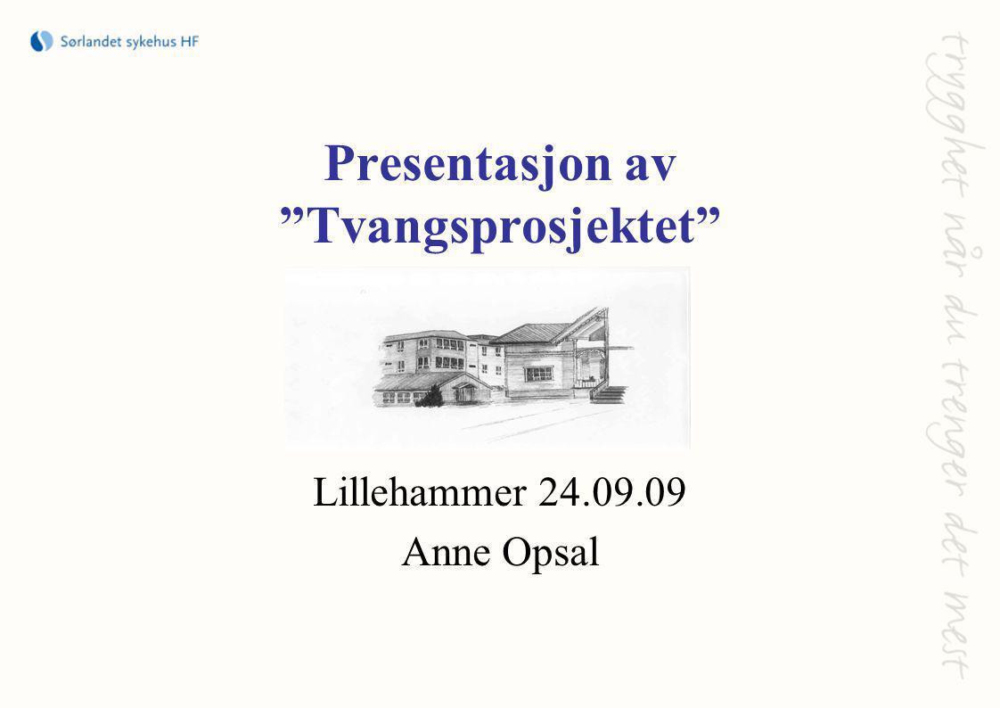 Presentasjon av Tvangsprosjektet