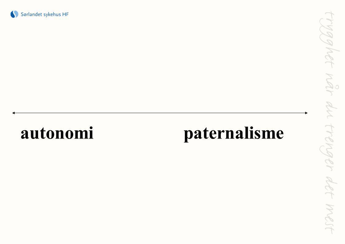 autonomi paternalisme