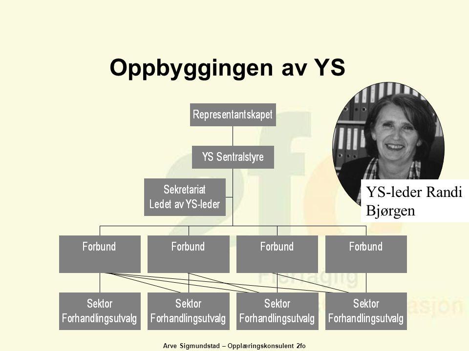 Oppbyggingen av YS YS-leder Randi Bjørgen