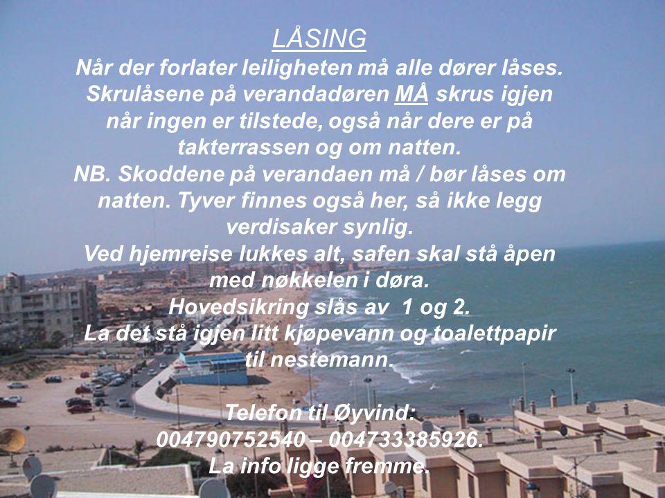 LÅSING LÅSING.