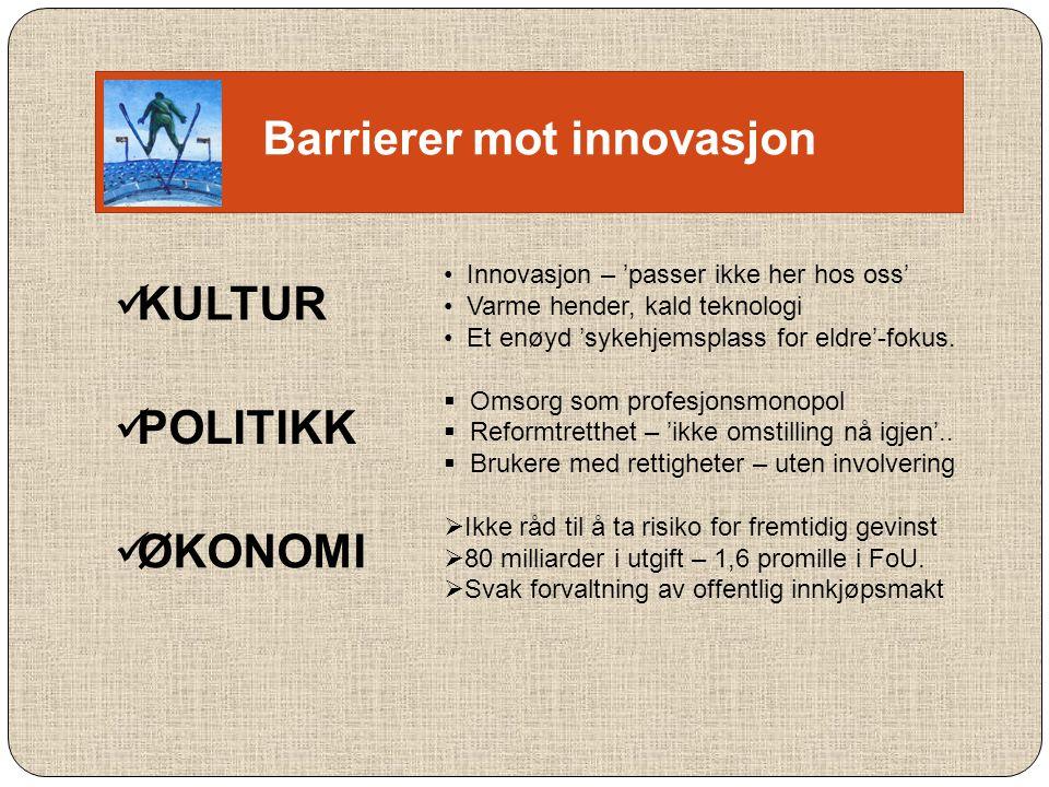 Barrierer mot innovasjon