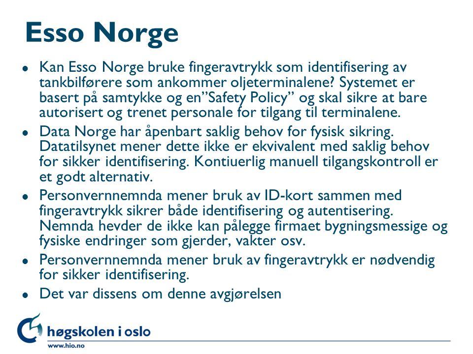 Esso Norge