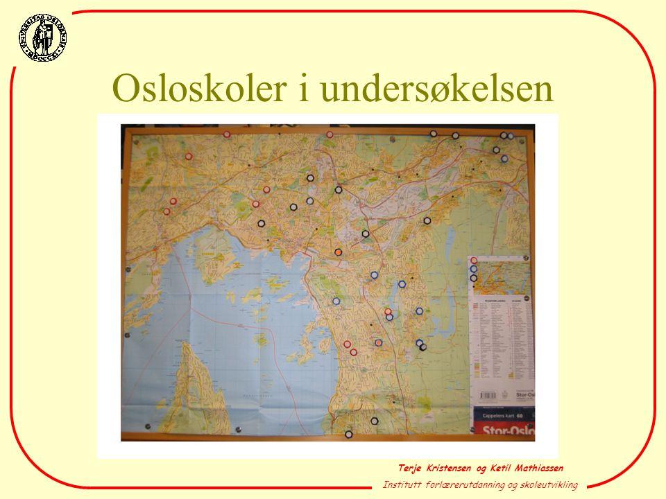 Osloskoler i undersøkelsen