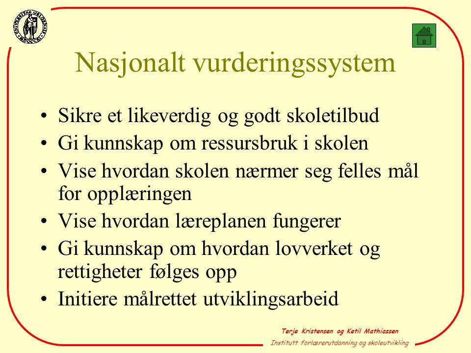 Nasjonalt vurderingssystem