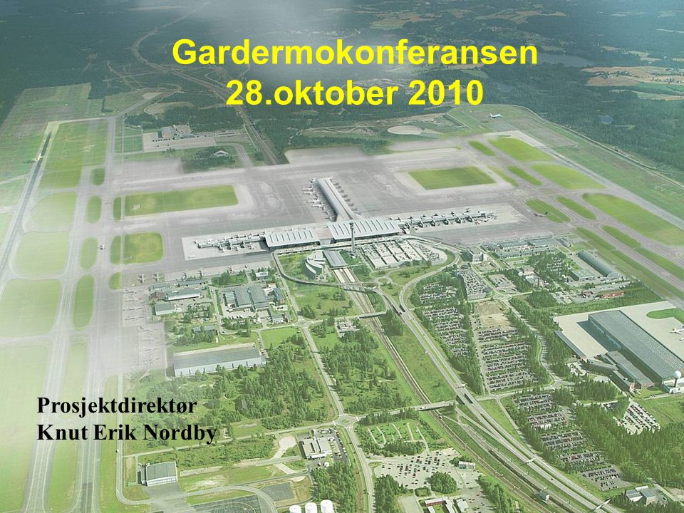 Gardermokonferansen 28.oktober 2010