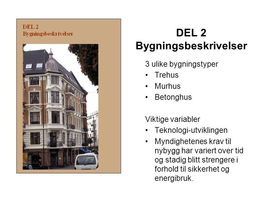 DEL 2 Bygningsbeskrivelser