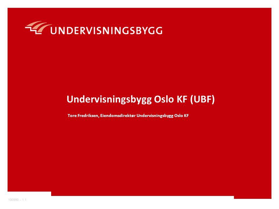 Undervisningsbygg Oslo KF (UBF)