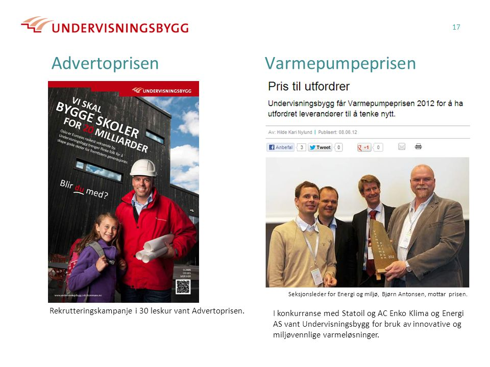 Advertoprisen Varmepumpeprisen