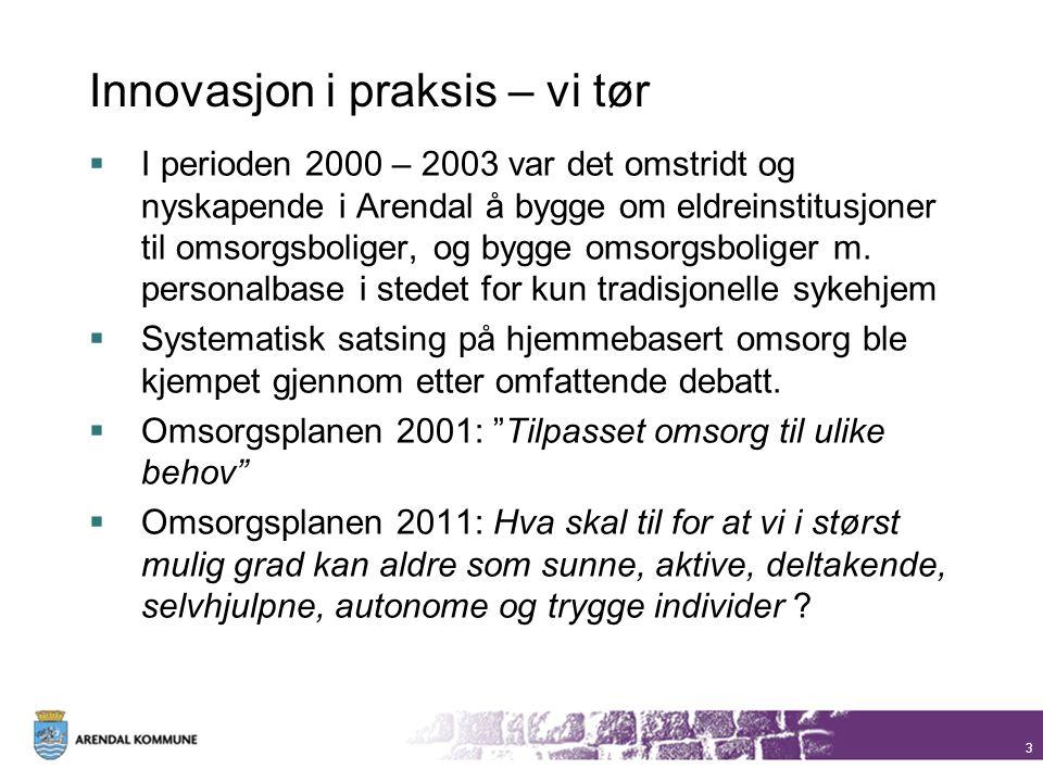 Innovasjon i praksis – vi tør