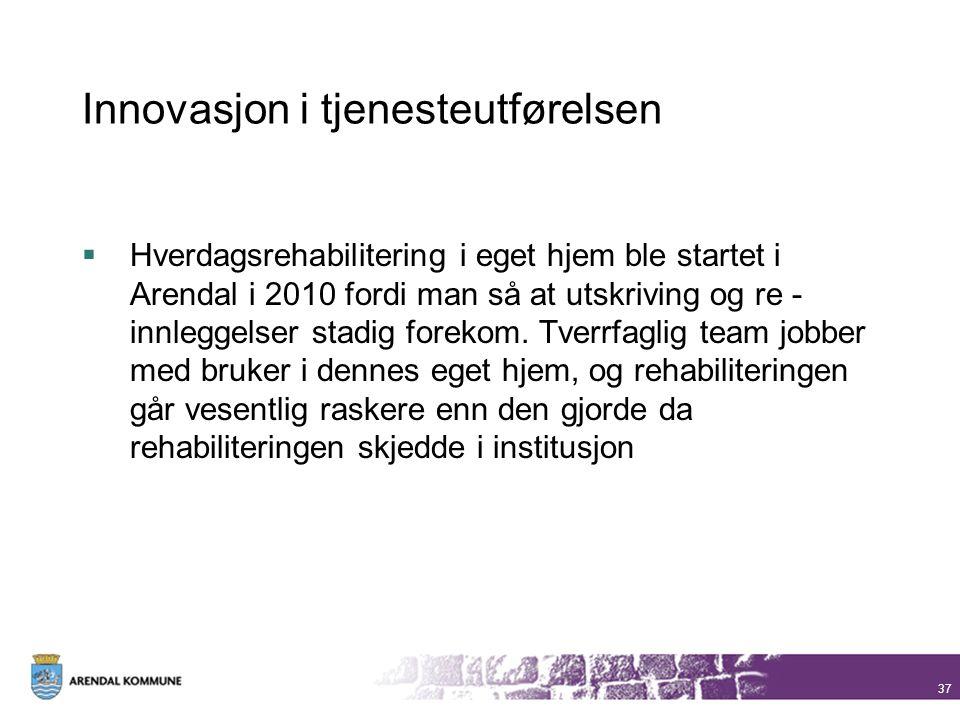 Innovasjon i tjenesteutførelsen