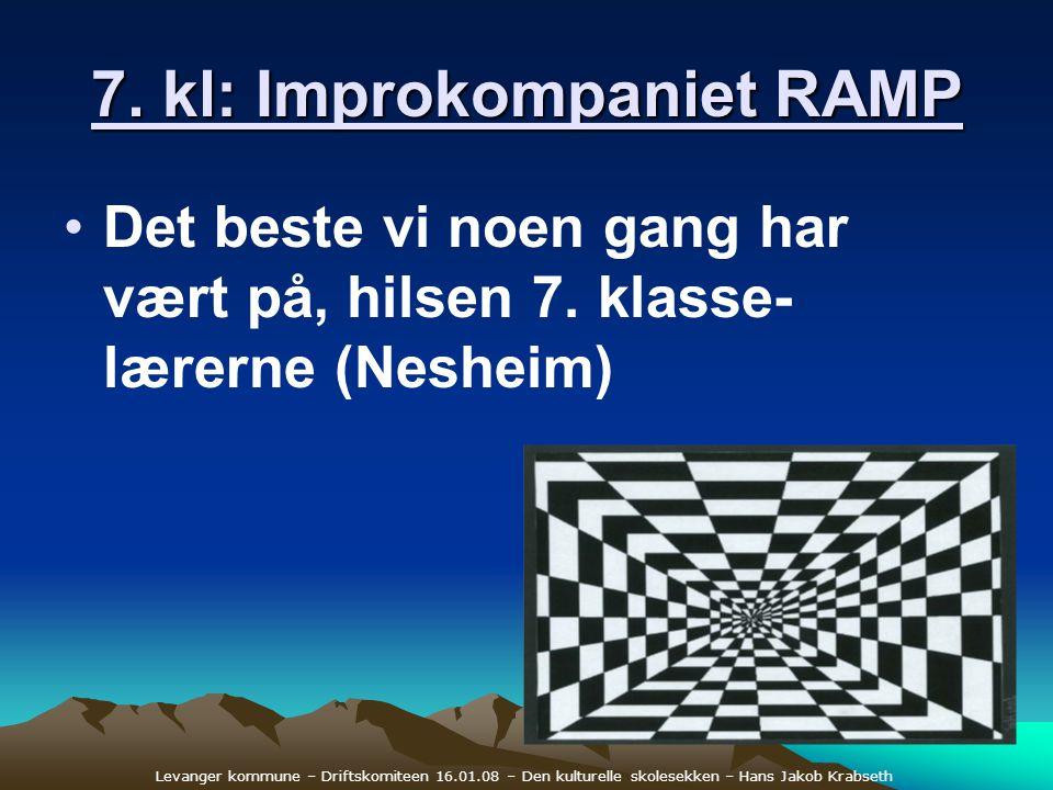 7. kl: Improkompaniet RAMP