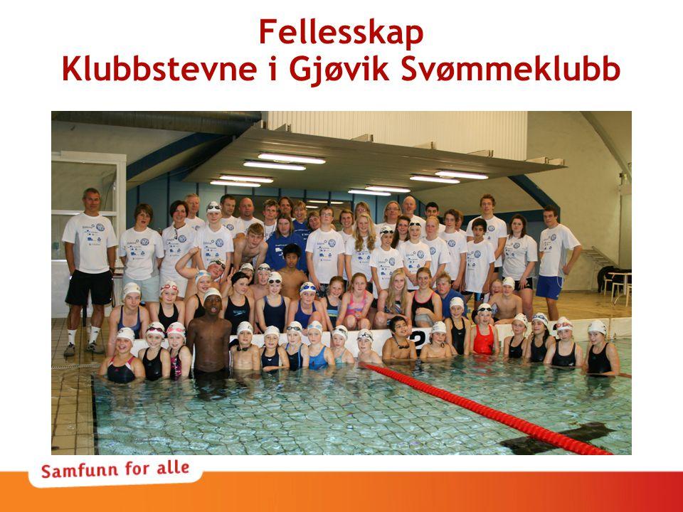 Fellesskap Klubbstevne i Gjøvik Svømmeklubb
