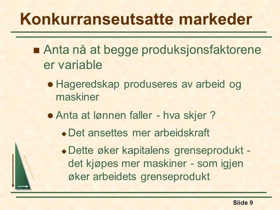 Konkurranseutsatte markeder