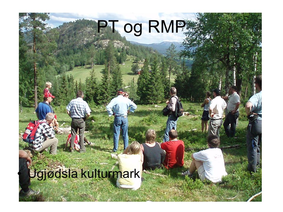 PT og RMP Ugjødsla kulturmark