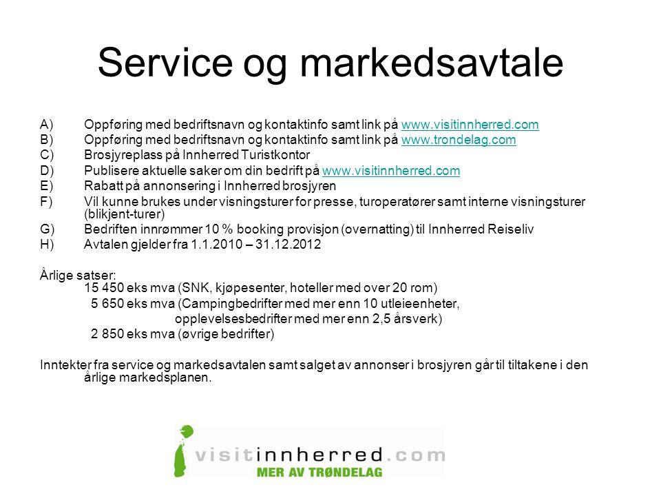 Service og markedsavtale
