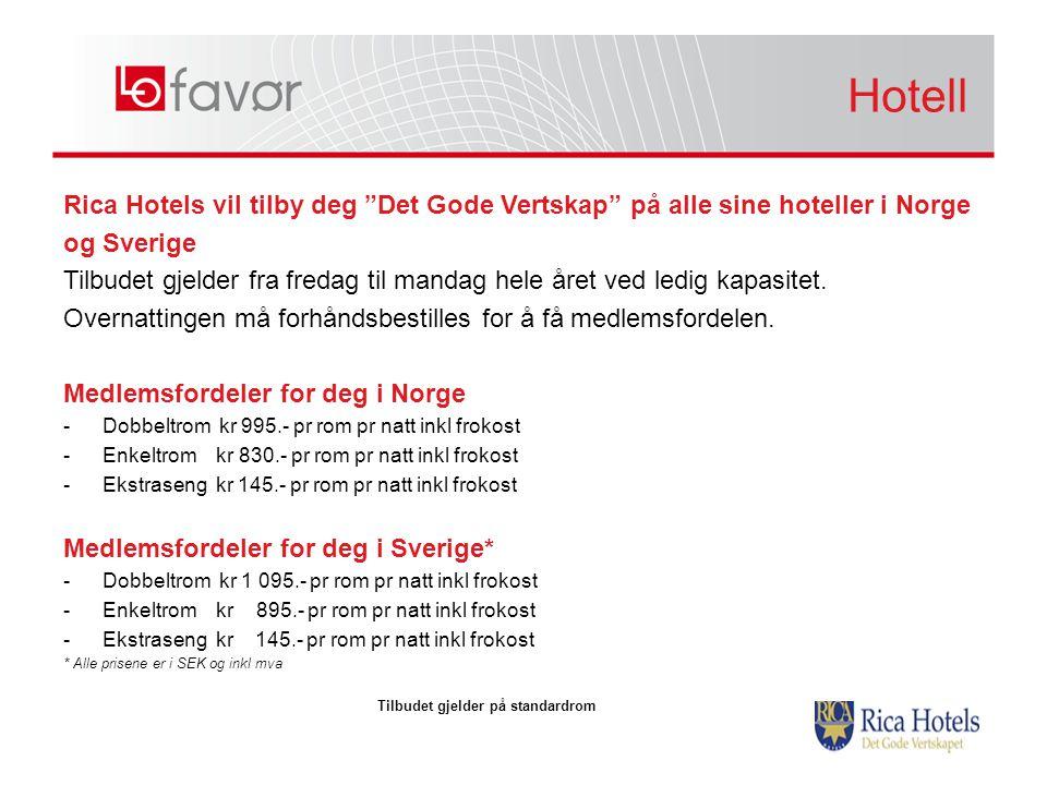 Hotell Hotell. Rica Hotels vil tilby deg Det Gode Vertskap på alle sine hoteller i Norge. og Sverige.