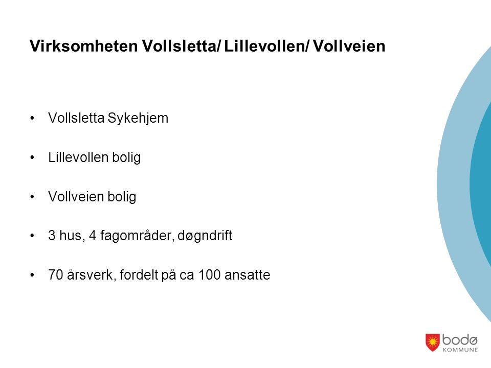 Virksomheten Vollsletta/ Lillevollen/ Vollveien