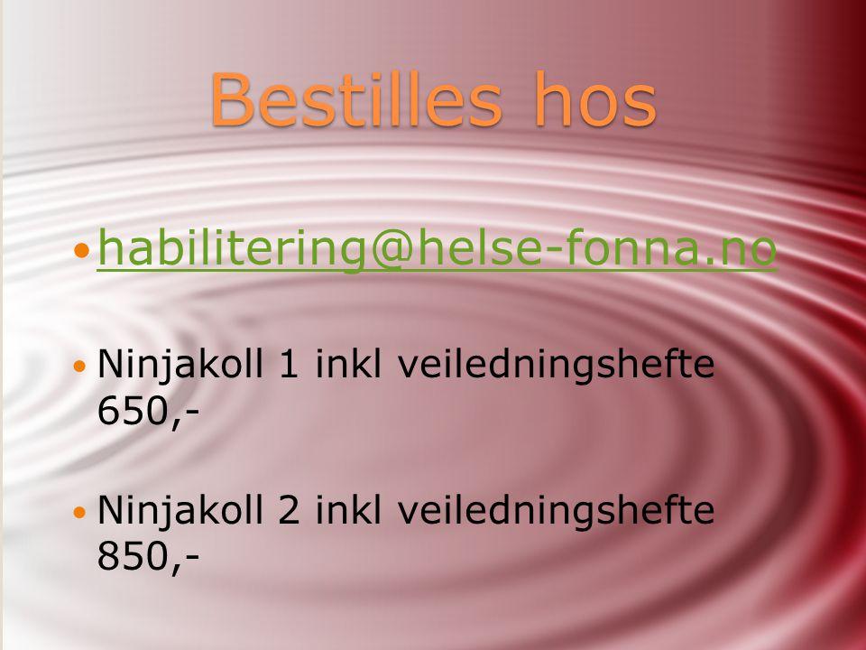 Bestilles hos habilitering@helse-fonna.no