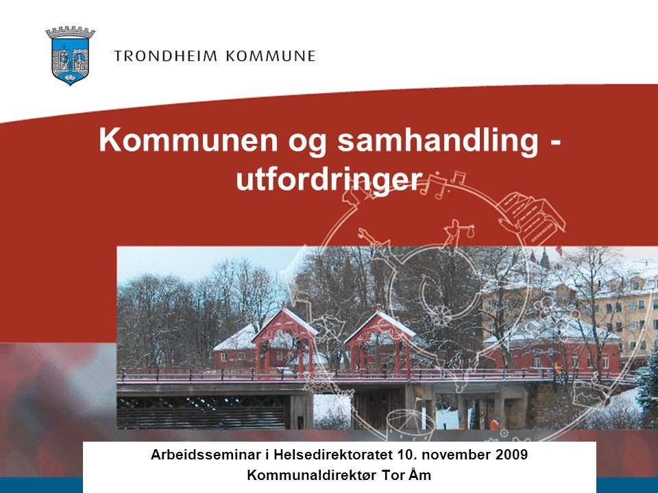 Kommunen og samhandling - utfordringer