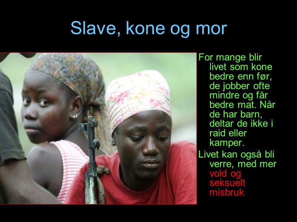 Slave, kone og mor
