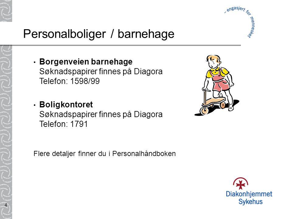 Personalboliger / barnehage
