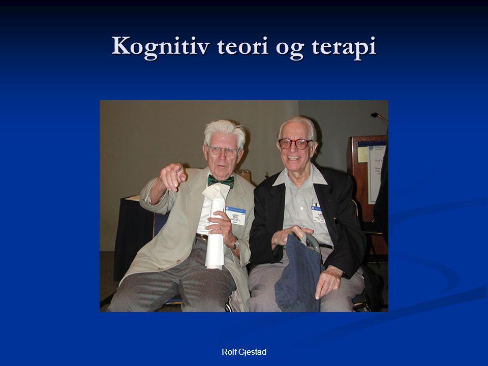 Kognitiv teori og terapi