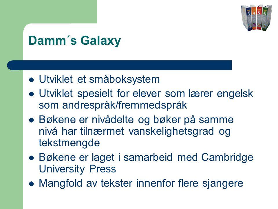 Damm´s Galaxy Utviklet et småboksystem