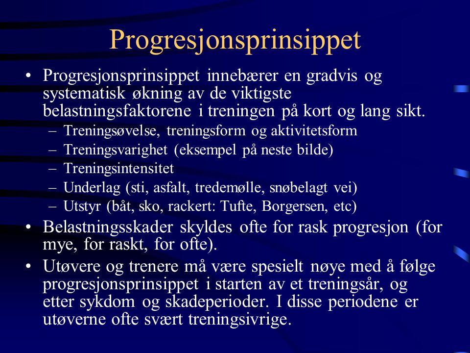 Progresjonsprinsippet
