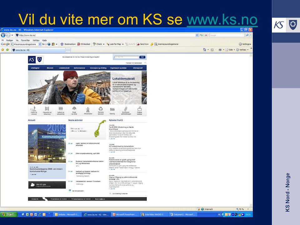Vil du vite mer om KS se www.ks.no