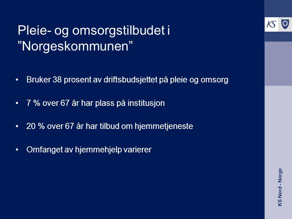 Pleie- og omsorgstilbudet i Norgeskommunen