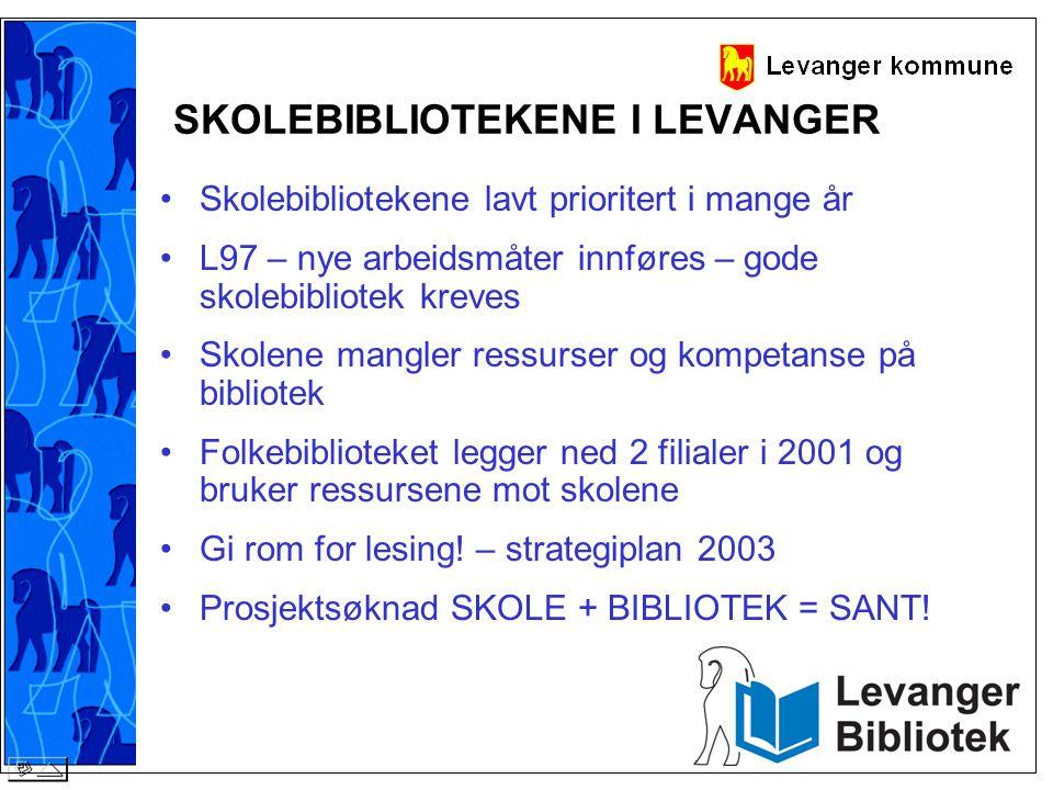 SKOLEBIBLIOTEKENE I LEVANGER