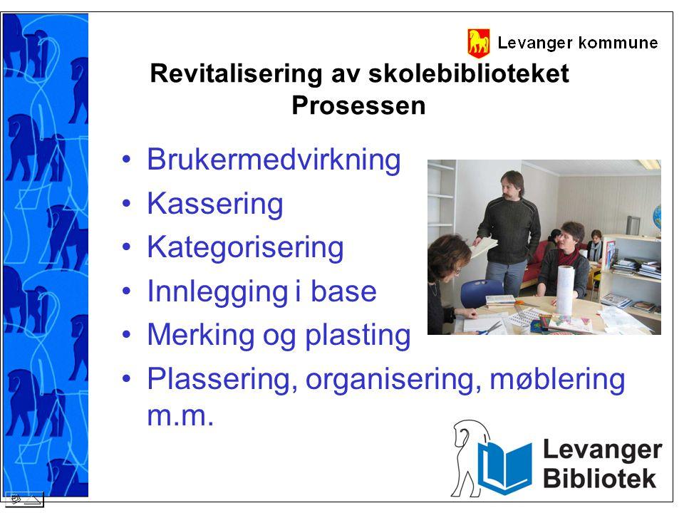 Revitalisering av skolebiblioteket Prosessen