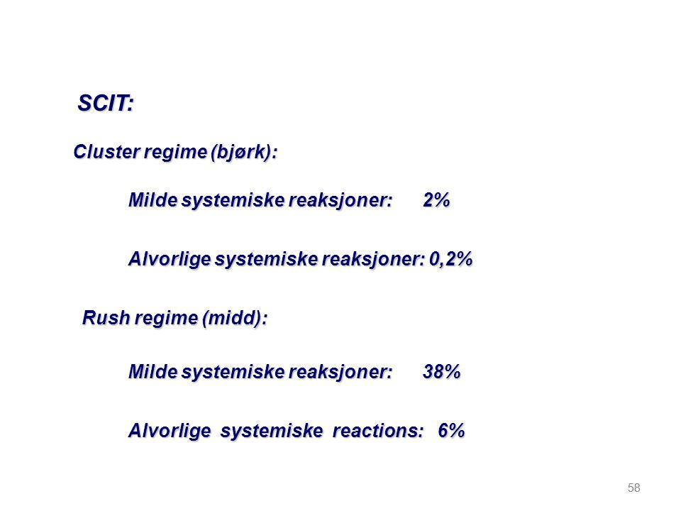 Cluster regime (bjørk):