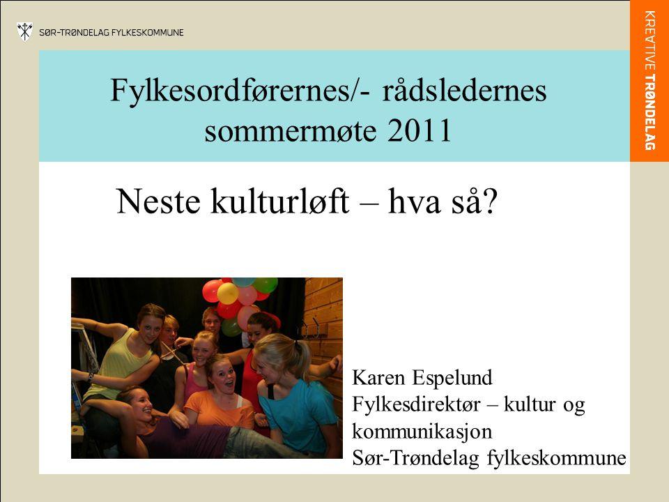 Fylkesordførernes/- rådsledernes sommermøte 2011