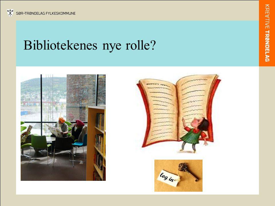 Bibliotekenes nye rolle