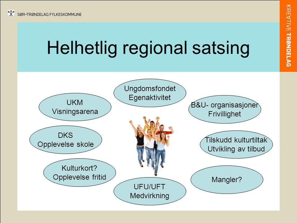 Helhetlig regional satsing