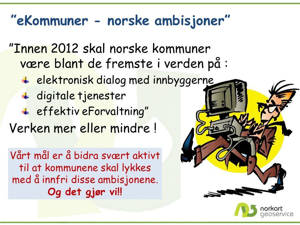 eKommuner - norske ambisjoner