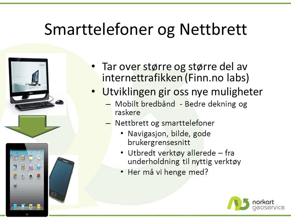 Smarttelefoner og Nettbrett