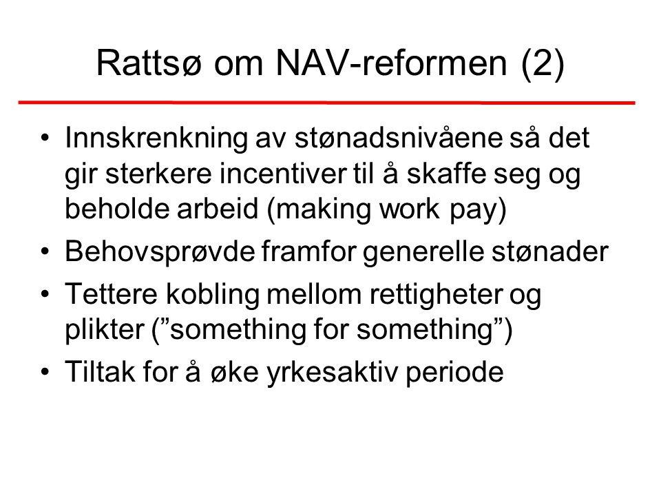 Rattsø om NAV-reformen (2)