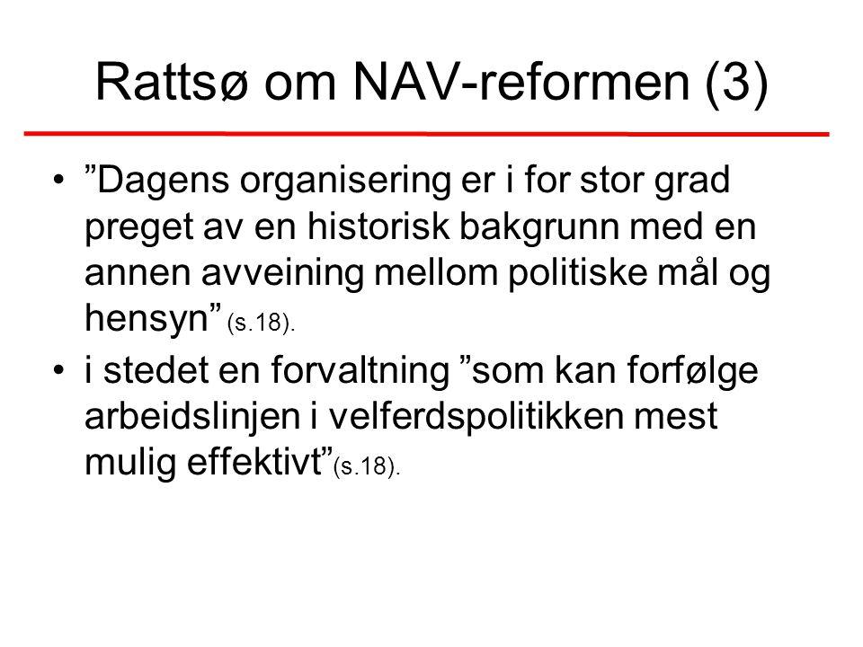 Rattsø om NAV-reformen (3)