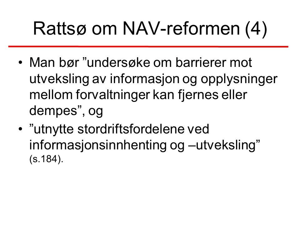 Rattsø om NAV-reformen (4)
