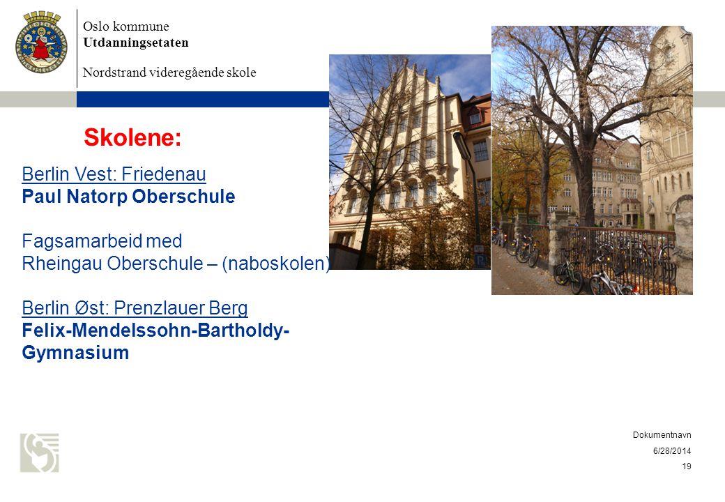 Skolene: Berlin Vest: Friedenau Paul Natorp Oberschule