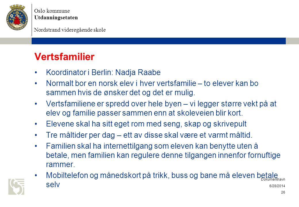 Vertsfamilier Koordinator i Berlin: Nadja Raabe
