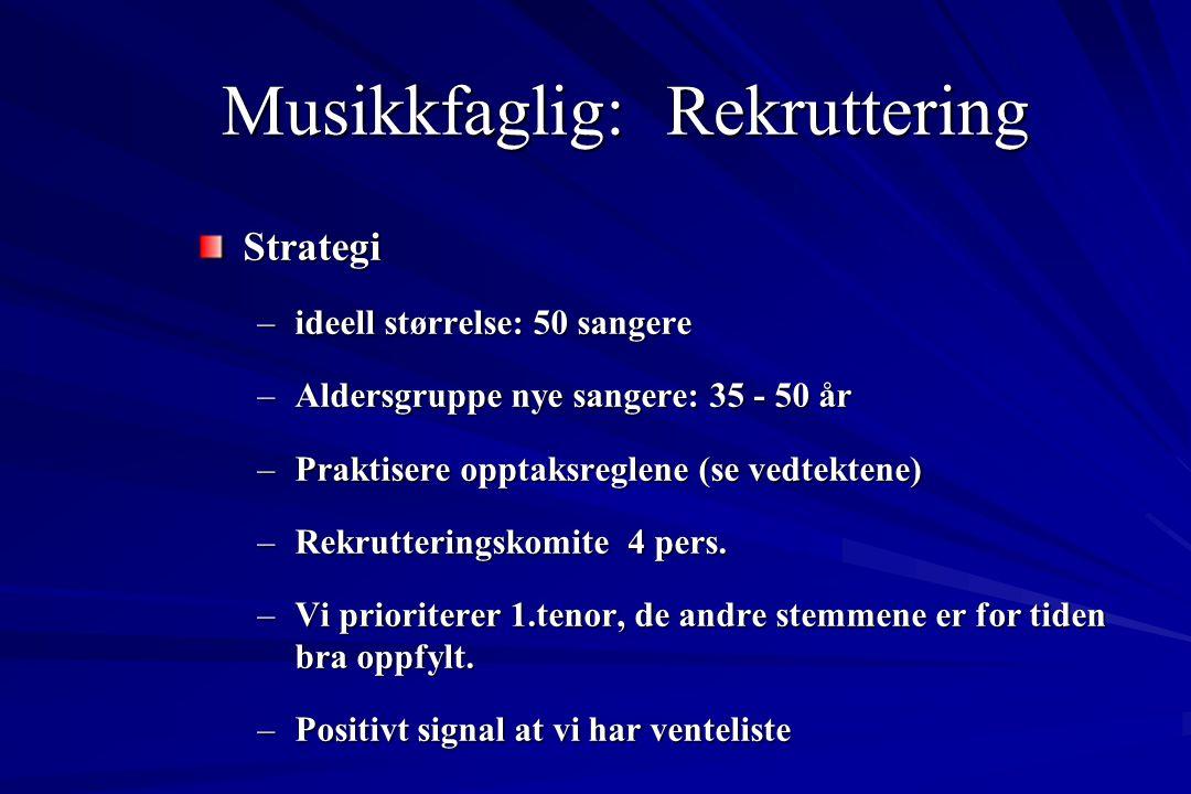 Musikkfaglig: Heving av kvalitet