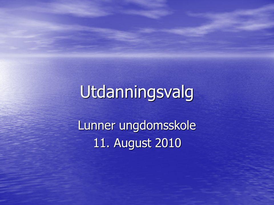 Lunner ungdomsskole 11. August 2010
