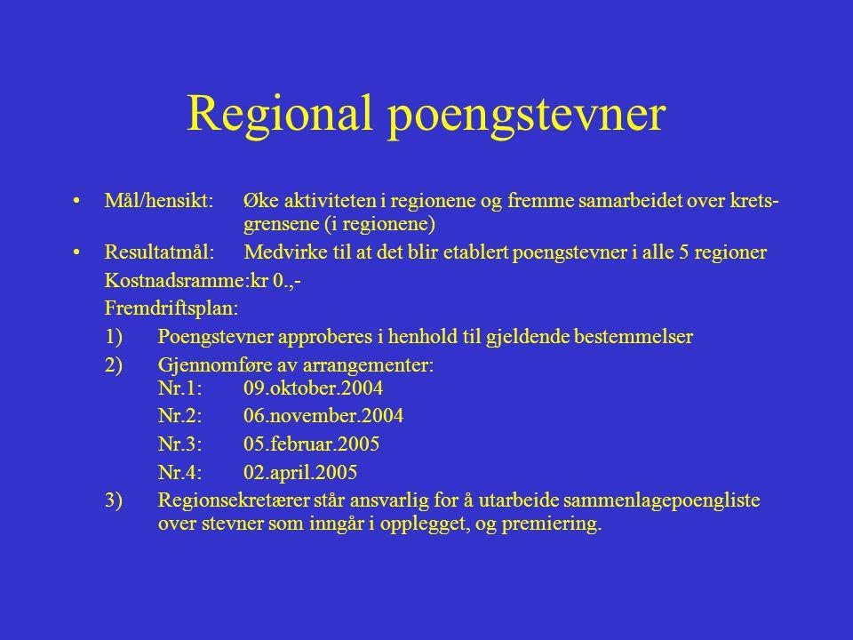 Regional poengstevner