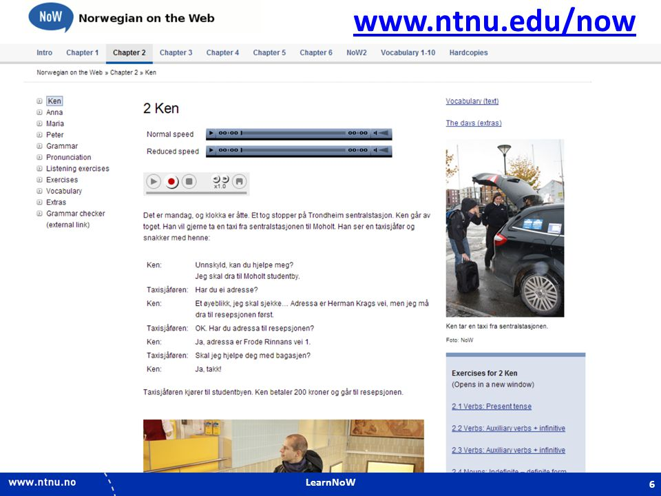 www.ntnu.edu/now LearnNoW