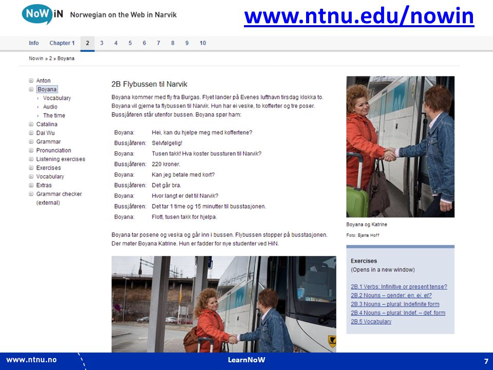 www.ntnu.edu/nowin LearnNoW